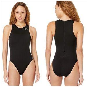 Speedo Endurance Black One Piece Swimsuit